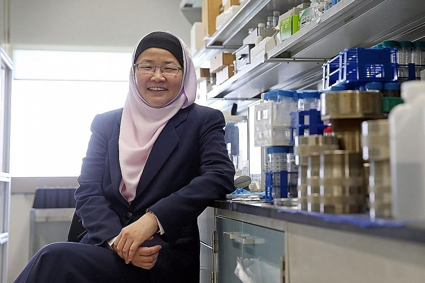 Professor Jackie Ying (above), executive director of the Institute of Bioengineering and Nanotechnology at A*Star, won the inaugural Mustafa Prize. She was recognised, among her many scientific achievements, for her role in developing a special way o