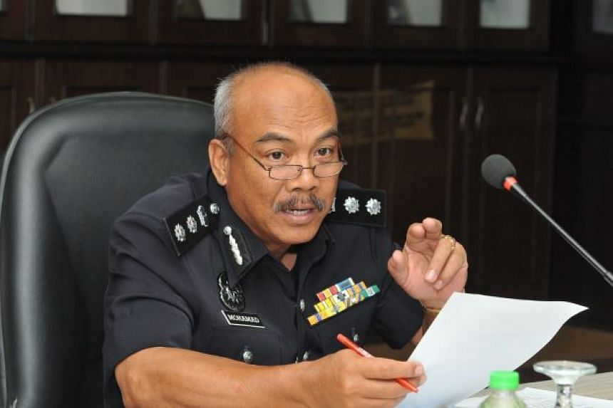 Kluang OCPD Assistant Commissioner Mohamad Laham (above) said the woman was arrested at 12.05am at her house.