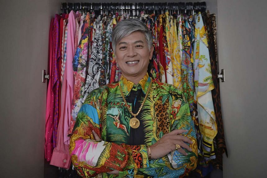 Dick Lee loves his Versace shirts. He has more than 50 of them, visits eBay every day to source for bargains, and pays up to S$2,800 for each piece.