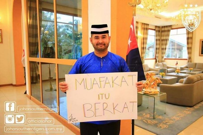 Writing in a Facebook posting on the Johor Southern Tigers football page on Christmas Day, Tunku Ismail said Islam teaches its followers to respect people of different races and beliefs and to stay away from any form of extremism.