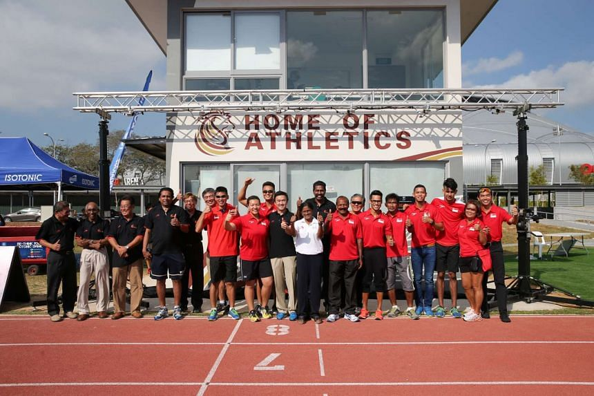 The Singapore Athletics (SA) have partnered with local traditional chinese medicine company Kin Teck Tong.