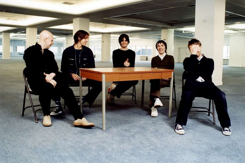 Radiohead in a 2011 file photo.