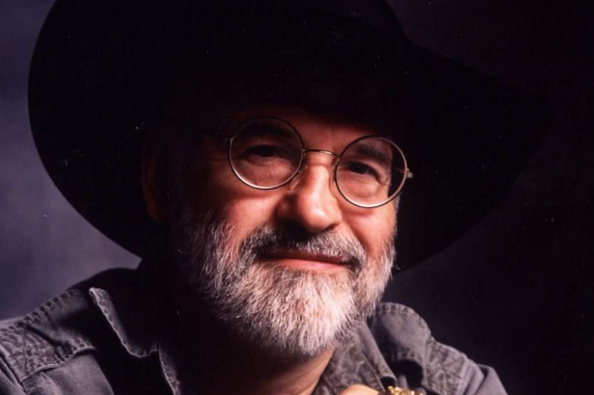 """British author Terry Pratchett, best known for his """"Discworld"""" series of 41 novels, died on March 12, 2015"""