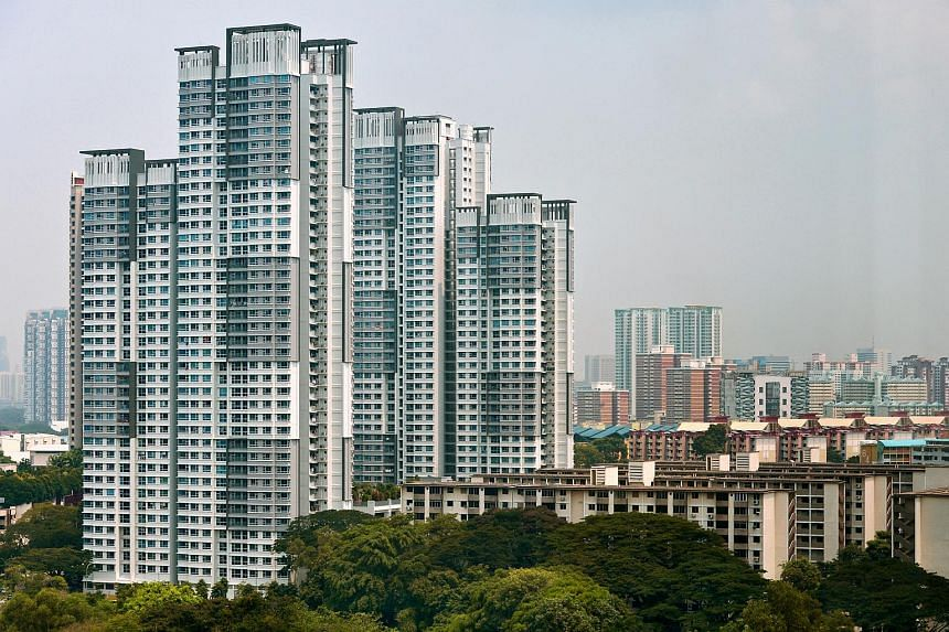 A tall block of flats situated in Tanglin Halt were completed in 2013 under the SERS exercise.