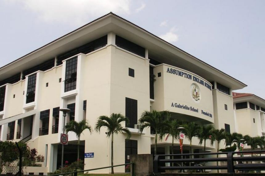 Staff and students of Assumption English School will be marking their return to their campus on Upper Bukit Timah Road with a mass walk on Dec 28, 2015.