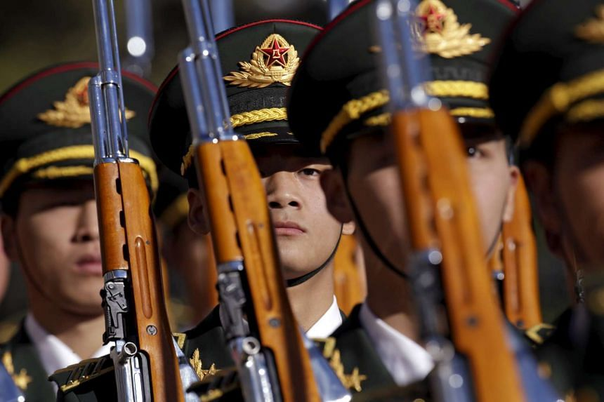 """Under China's new counter-terrorism law, it """"may send personnel outside the border to carry out anti-terror activities"""" when the """"relevant country"""" agrees."""