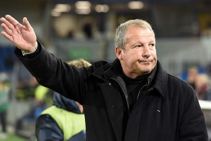 Pascal Baills and Bruno Martini were named as joint-caretaker managers of Montpellier, taking over from French coach Rolland Courbis.