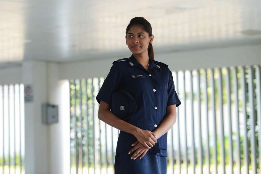 Dalreena Poonam Ganesan is a former Miss World Singapore and was appointed as an Singapore Police Force (SPF) officer in April this year.