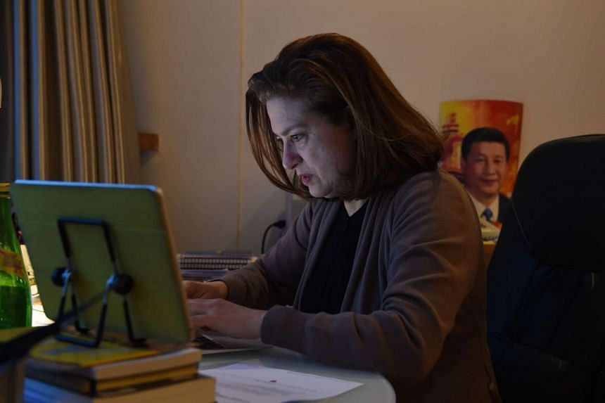 Ursula Gauthier, the Beijing-based correspondent for French news magazine L'Obs.