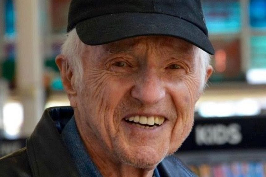 This undated handout family photo shows Oscar-winning cinematographer Haskell Wexler, who died on Sunday, Dec 27, 2015 aged 93, his family said.