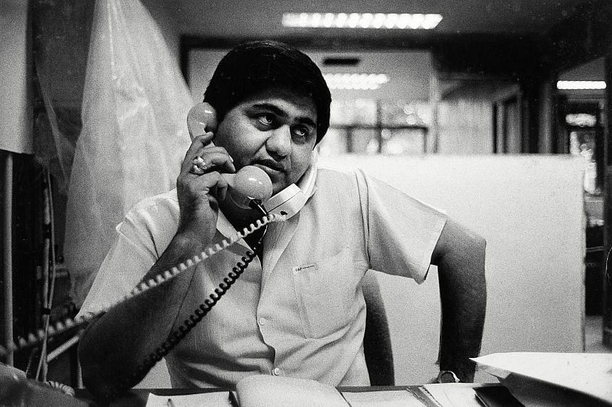 Portrait of Deepak Puri (1989) by Sebastiao Salgado.