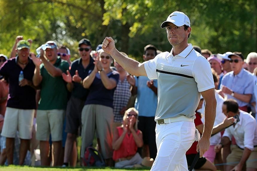 After injuring his ankle in mid-season, four-time Major champion Rory McIlroy recovered well and has high hopes for next year.