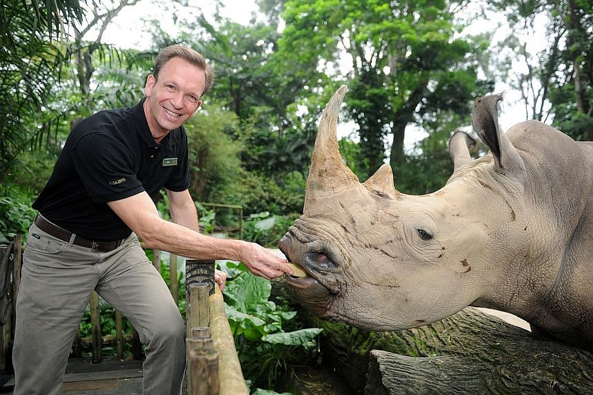 Mr Barclay plans to focus on three main areas at WRS: creating a work environment that allows staff to develop their skills and reach their potential; create more value for guests; and renew the organisation's focus on conservation in Singapore and S