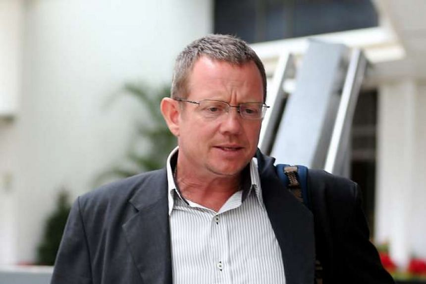 Arne Corneliussen has served more than half of his 10-week jail term after admitting to choking Chan Chuan Heng, a taxi driver.