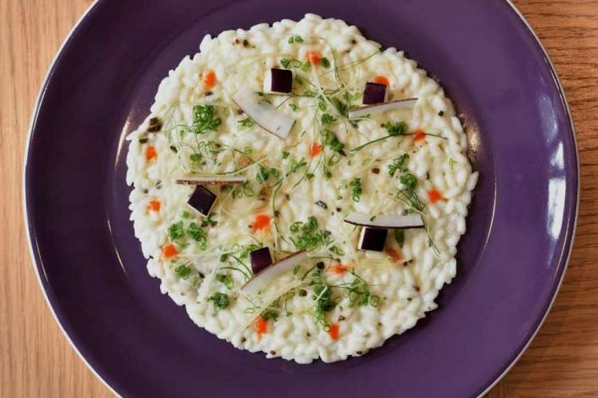 Bacchanalia's Coconut Risotto. PHOTO: DIOS VINCOY JR FOR THE SUNDAY TIMES