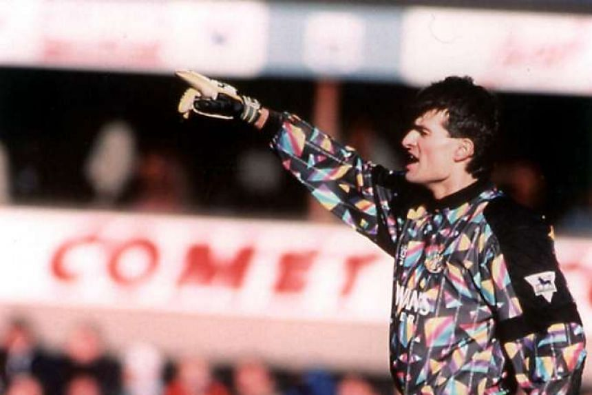 Former Czech Republic goalkeeper Pavel Srnicek was playing for Newcastle United in the English Premier League in this photo in 2005.