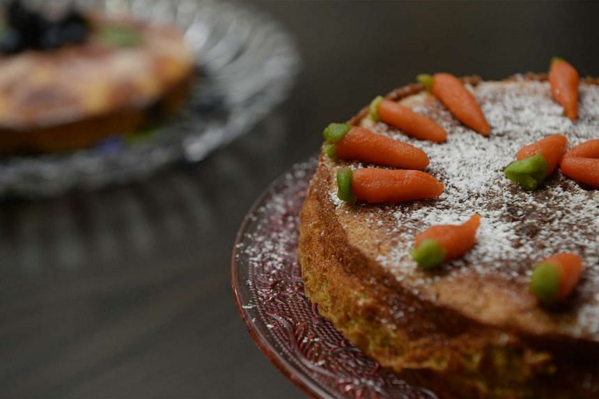 Aargau Carrot Cake has plenty of Vitamin A and is good for the eyes.