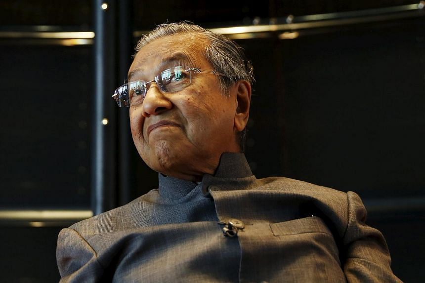 Malaysia's former prime minister Mahathir Mohamad in Kuala Lumpur on Oct 22.