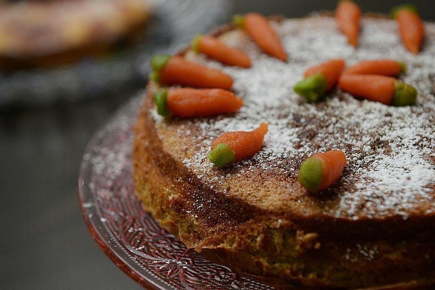Aargau carrot cake.