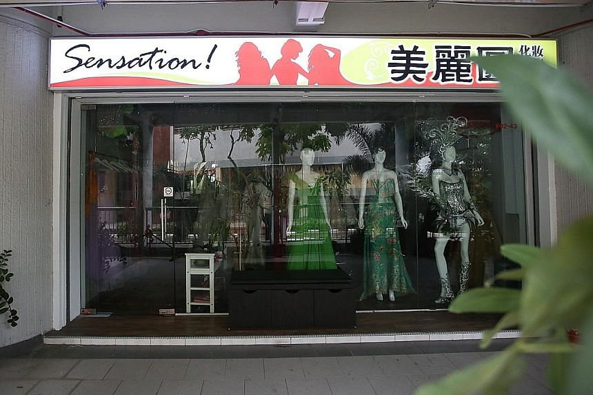 Ms Li Xia runs the shop at Crawford Court and had been offering remittance services for around three years.