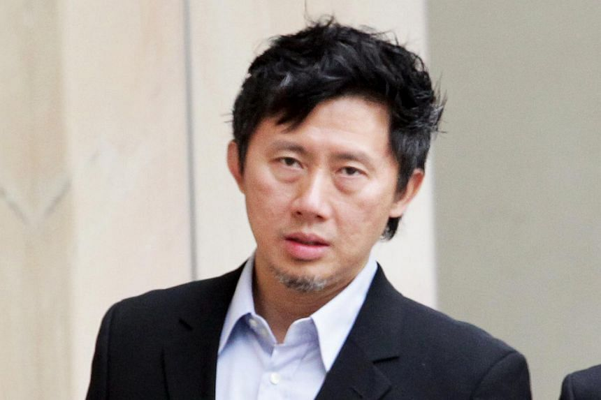 Plastic surgeon Martin Huang leaving the High Court on Oct 25, 2011.