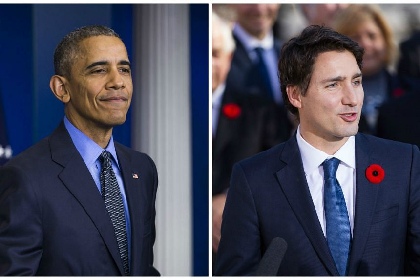 US President Barack Obama is set to welcome Canadian Prime Minister Justin Trudeau in Mar 2016.