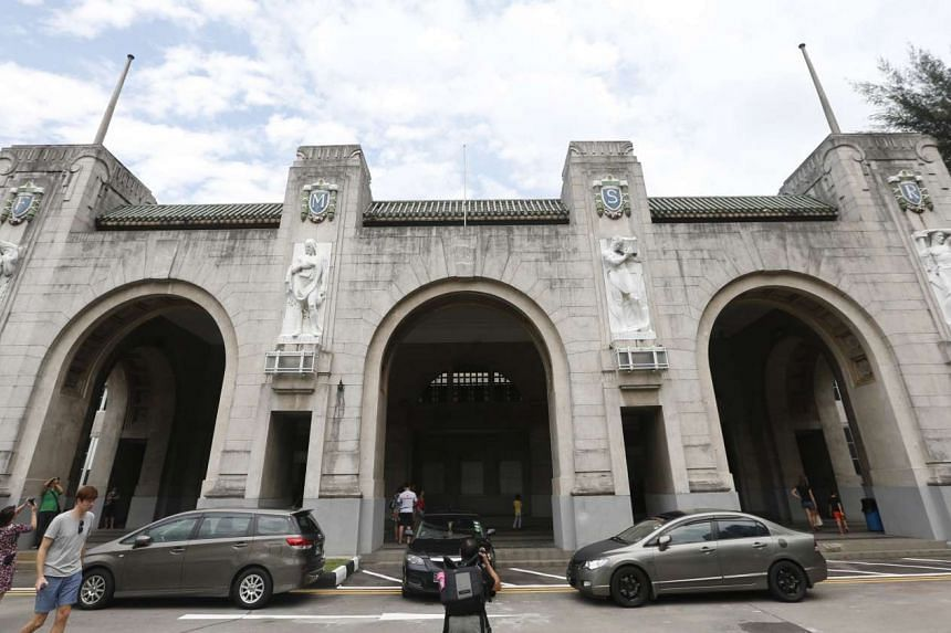 The old Tanjong Pagar Railway Station will open its doors again on New Year's Day.