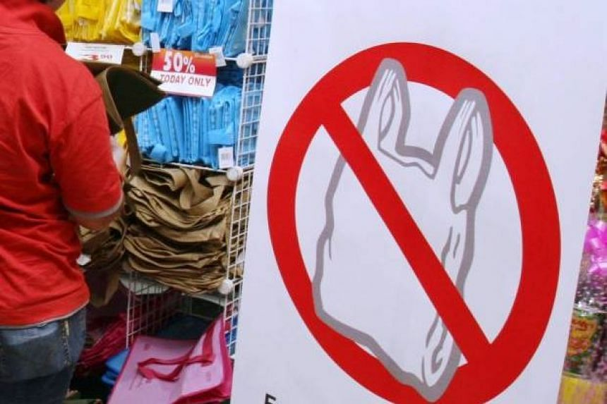 """The """"no plastic bag"""" ruling will be introduced in all shopping malls and supermarkets in Malacca from Jan 1, 2016."""