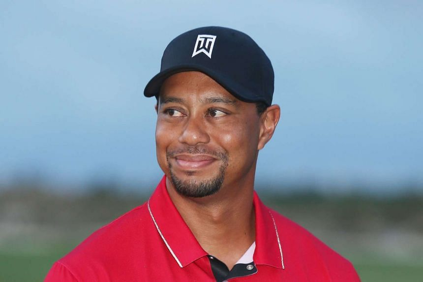 Tiger Woods at the Hero World Challenge at Albany, The Bahamas on Dec 6, 2015.