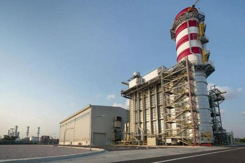 A gas-fired power plant developed, owned and operated by Sembcorp Industries in Singapore.