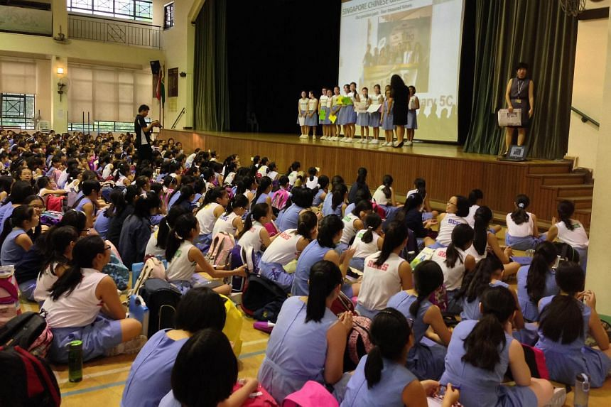 The new Eunoia JC will be taking students from CHIJ St Nicholas Girls' School, Catholic High School and Singapore Chinese Girls' School (pictured).