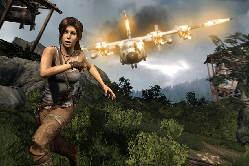 Screenshot of Tomb Raider, a game for Xbox 360, Playstation 3 and computer.