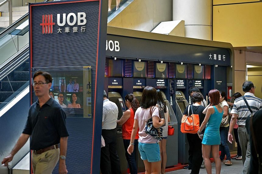 DBS Bank (above) said the new framework will ease disclosure requirements on corporates and could pave the way for more retail bonds next year. Meanwhile, UOB (below) sees selective opportunities for retail bonds next year, potentially from refinanci