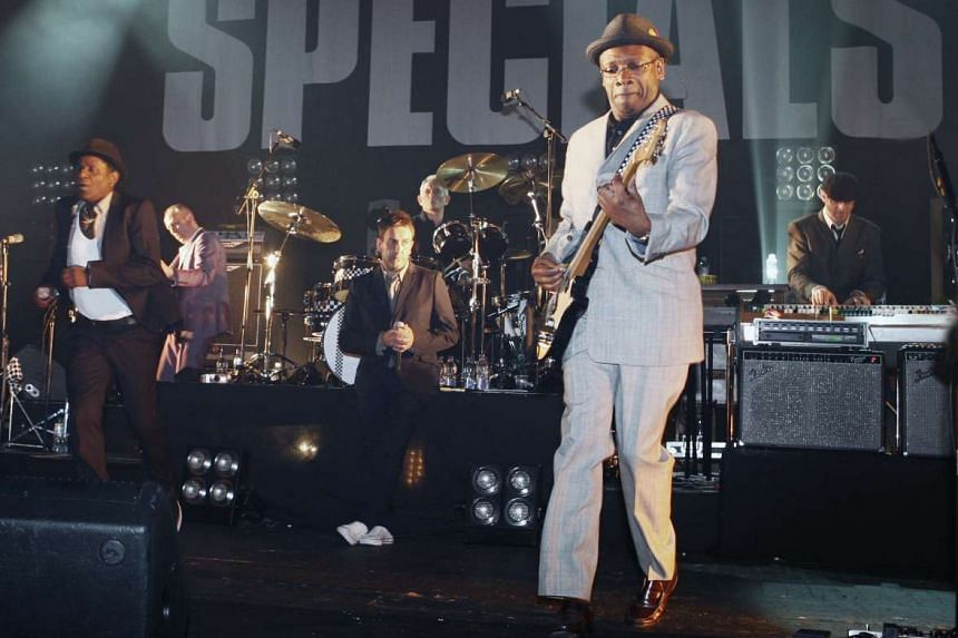 Influential two-tone ska band The Specials in a file photo.