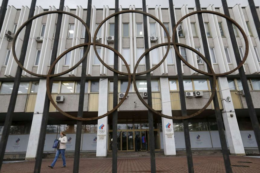 The Russian Olympic Committee headquarters building in Moscow, which also houses the Russian Athletics Federation.