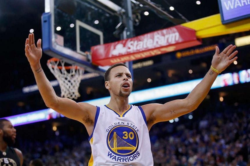 Stephen Curry of the Golden State Warriors during a game against the Milwaukee Bucks on Dec 18.