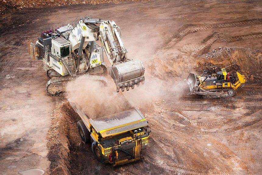 A Yancoal mine in Australia. Yancoal is an associate company of the Noble Group, which is likely to have a challenging time ahead given the lacklustre outlook for the commodity sector, say analysts.