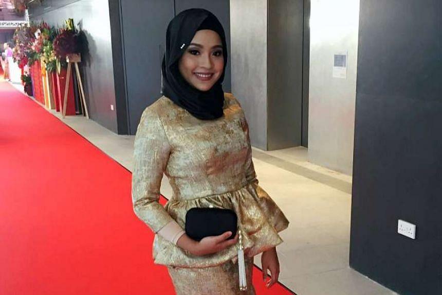 Actress Syirah Jusni, 26.