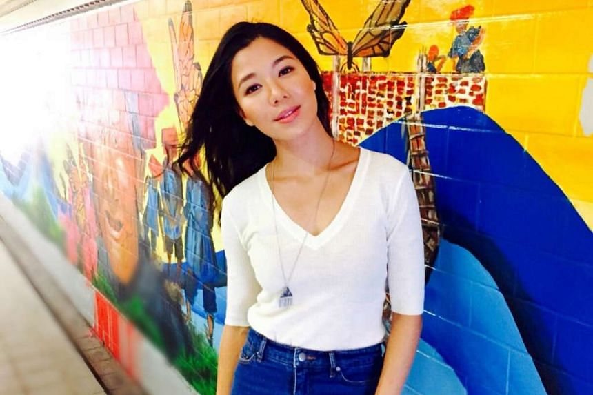 Host-actress Belinda Lee, 38.