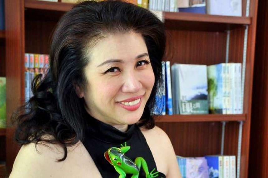 Veteran getai singer Liu Ling Ling, 51.