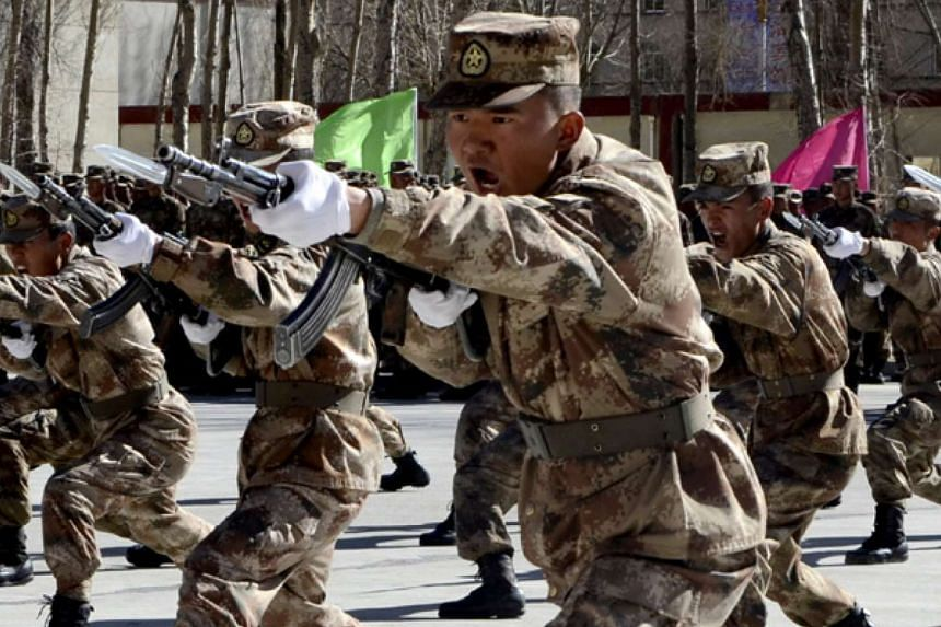 A new general command unit for the army, a missile force and a strategic support force for People's Liberation Army (PLA) was inaugurated on Jan 1, 2016.