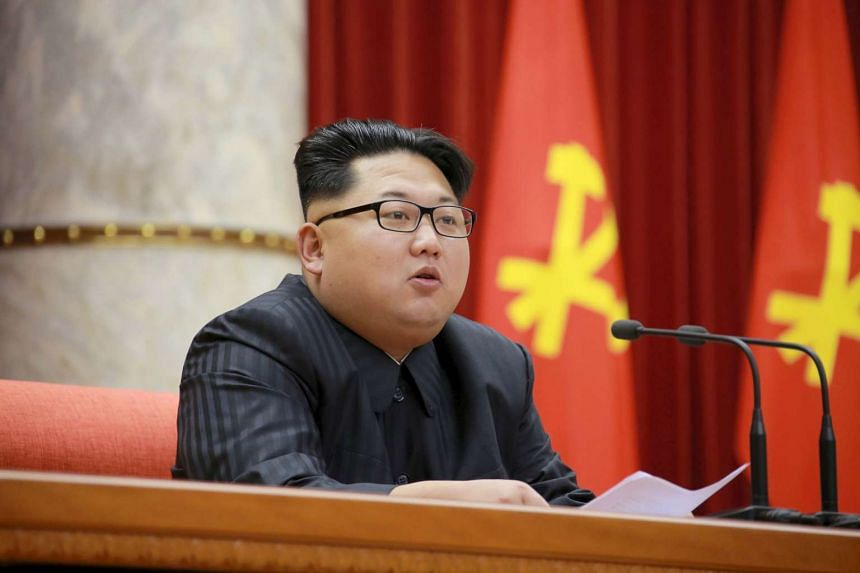North Korean leader Kim Jong Un attends the 3rd Meeting of Activists in Fisheries under the Korean People's Army (KPA).