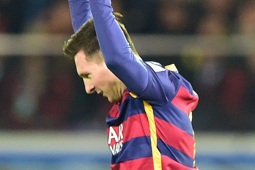 Lionel Messi scored his 425th goal on his 500th appearance for Barcelona in the 4-0 victory over Real Betis. He echoed Luis Enrique's thoughts by saying that Barca want to continue their winning ways in 2016.