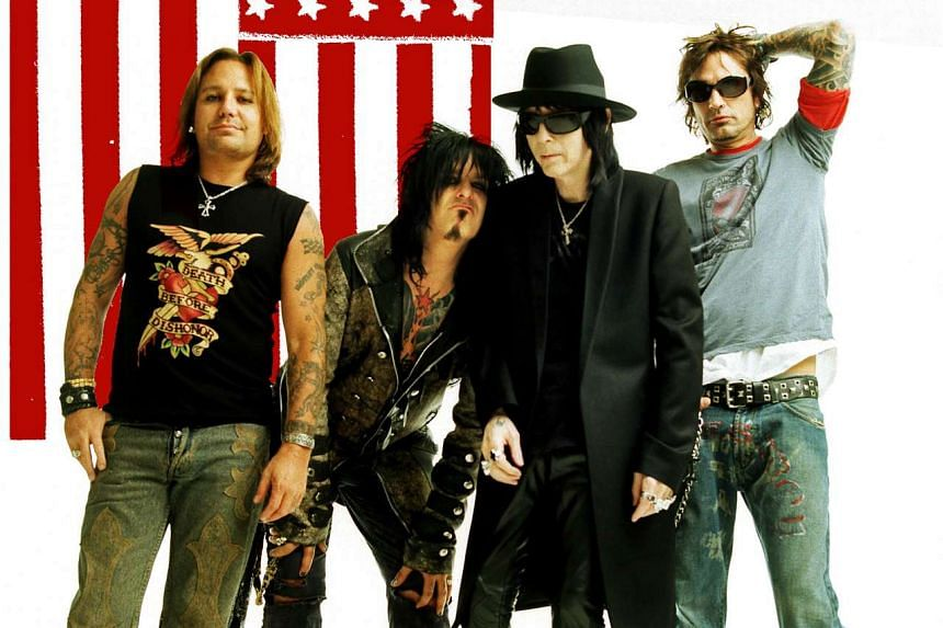 Motley Crue announced in a statement that their final concert will be turned into a film.