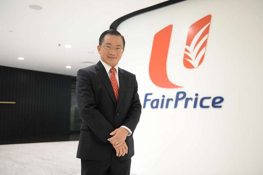 Mr Seah Kian Peng said FairPrice regards social objectives as being as important as business objectives.