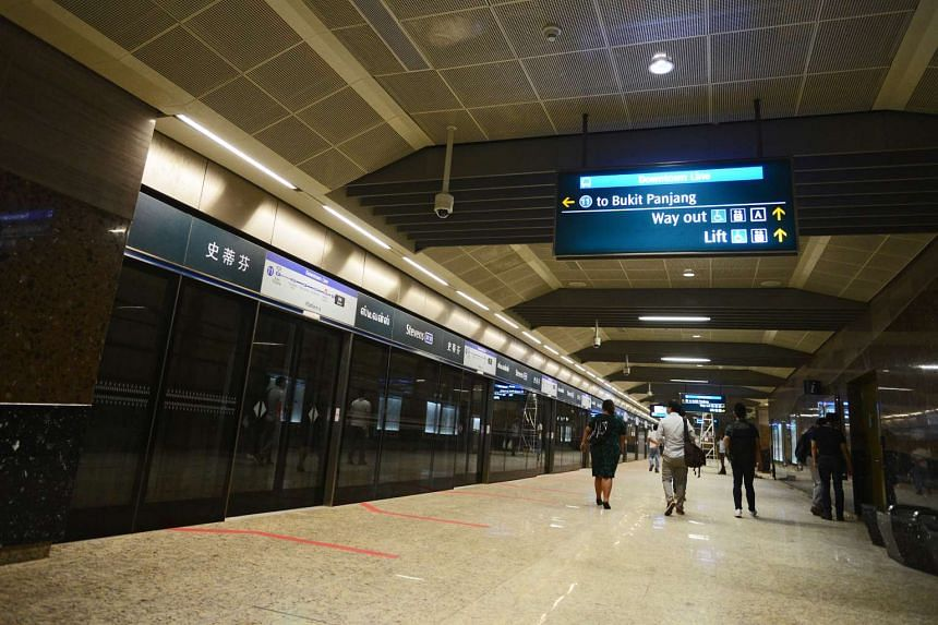 LTA announced yesterday that it will grant commuters a grace period of 10 minutes if they enter the wrong platform at the Downtown Line 2 Stevens Station.