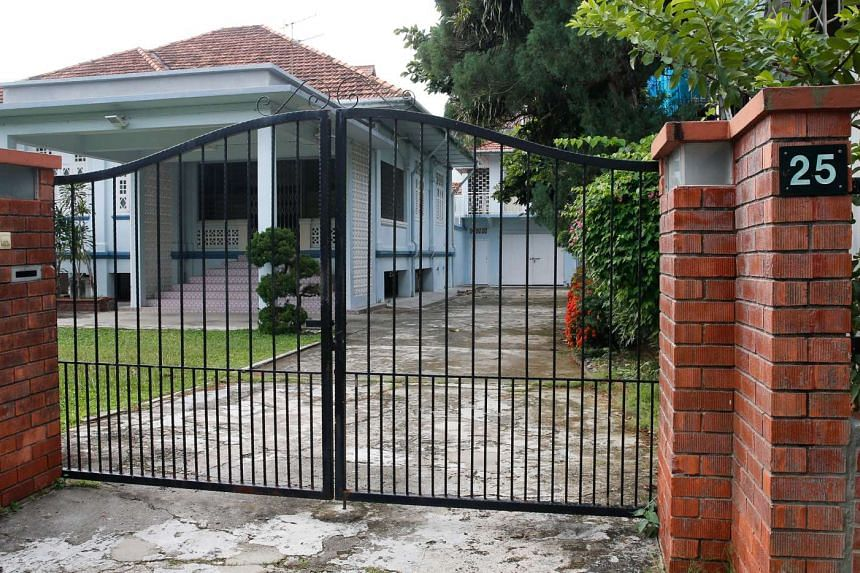 The property was bought by the brothers' father, the late Mr Moh Lee Twee, in 1957.