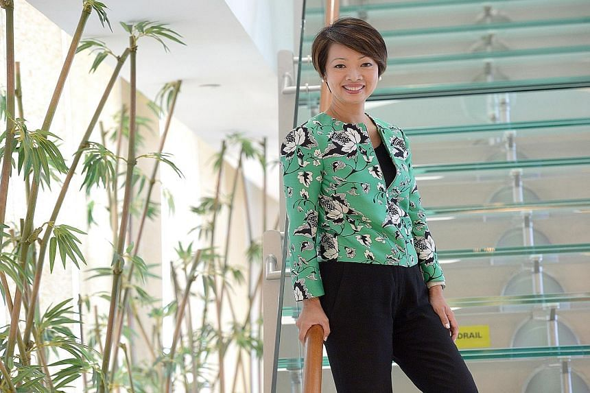 Wealth Management Institute's chief executive, Ms Foo Mee Har, says if relationship managers do not upgrade themselves and their skills, they risk being replaced by someone better or even robo-advisers.