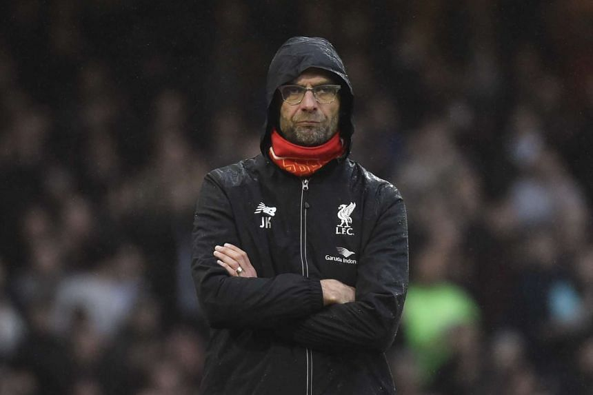 Liverpool manager Juergen Klopp looking on at the match against West Ham United on Jan 2, 2016.