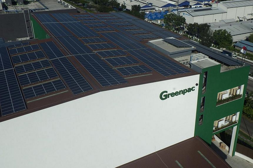 "Home-grown packaging firm Greenpac opened Singapore's first ""green"" factory in Jurong in October 2013."